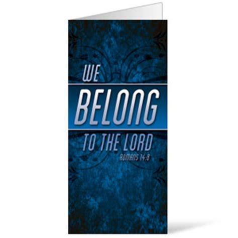 We Belong To The Light We Belong To The Thunder by Names Of God Banner Church Banners Outreach Marketing