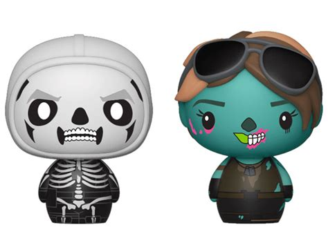 fortnite pint size heroes skull trooper ghoul trooper