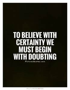 Certainty Quote... Certainty Love Quotes
