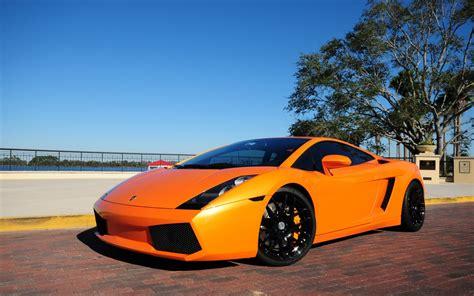 Lamborghini Gallardo Orange Wallpaper