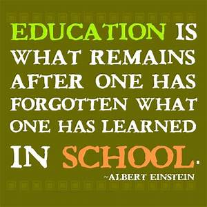 Albert Einstein Education Quotes Learning. QuotesGram