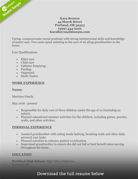 home health care skills resume