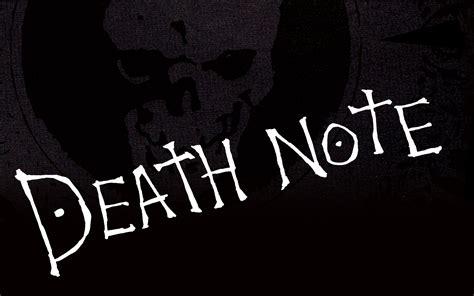 death note logo wallpaper