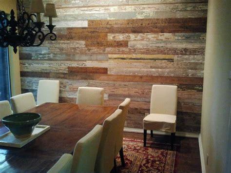 reclaimed wood wall  texas wood