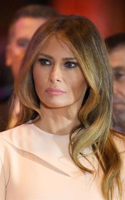Меланья Трамп в юности и сегодня: бьюти-эволюция первой леди США