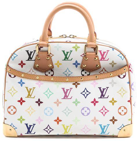 louis vuitton trouville bag multicolor vintage bragmybag