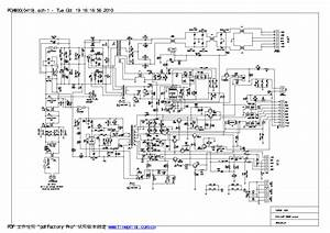 Philips Fwm663 Fwm6500 Power Supply Schematic Service