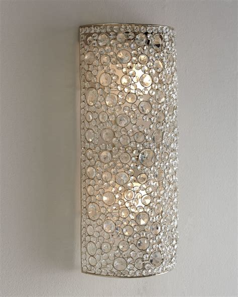 four hands quot scattered crystal quot sconce wall sconces by