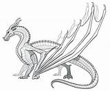 Coloring Pages Nightwing Printable Wings Fire Dragon Getcolorings sketch template