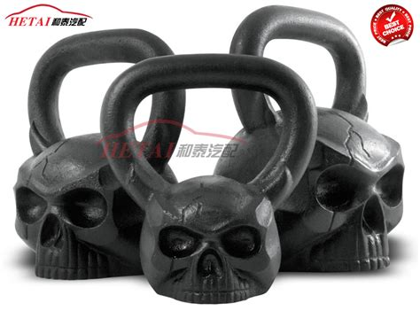 kettlebell custom skull shaped face cheaper wholesale