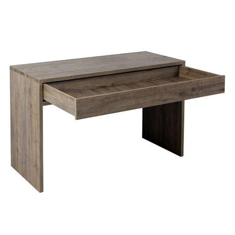 bureau blanc avec tiroir bureau avec tiroir bureau albane 4 tiroirs 1 porte pin