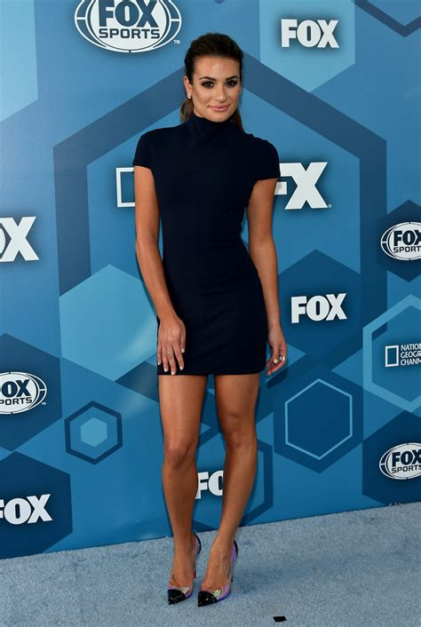 Lea Michele Mini Dress  Mini Dress Lookbook Stylebistro