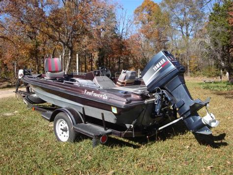 Kingfisher Bass Boats For Sale by 1990 Kingfisher Bass Boat Espotted