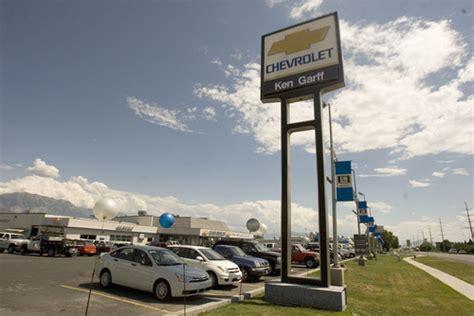 Ken Garff Buys Gene Harvey Chevrolet In American Fork