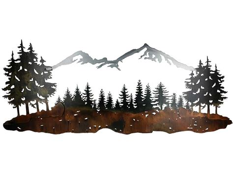 Smw Wall Art Sisters Mountain Landscape-sunriver