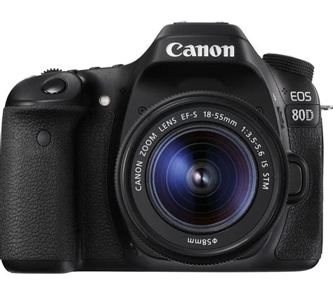 Buy Canon Eos 80d Dslr Camera With 1855 Mm F3556 Lens