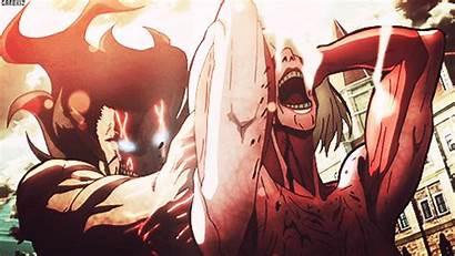 Titan Attack Shingeki Kyojin Eren Gifs Anime