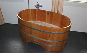 Pont De Baignoire Bois : baignoire en bois sur mesure et spa en bois vente en ~ Premium-room.com Idées de Décoration