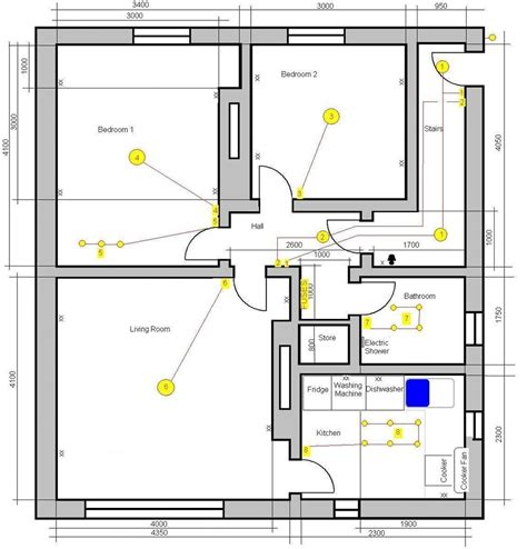 re wiring 2 bedroom flat in paisley electrical in