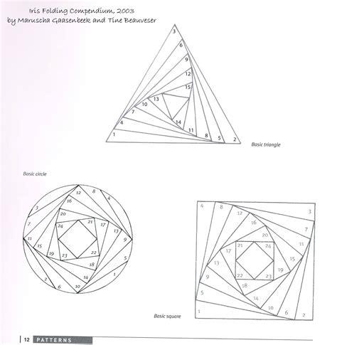 iris folding instructions  video tutorial iris