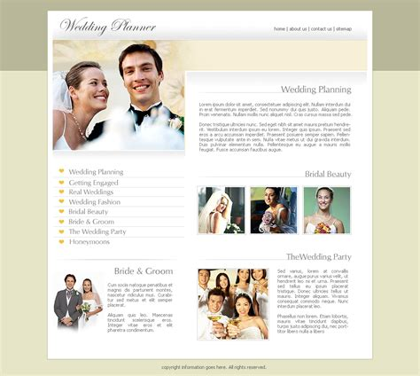 wedding website templates  commercewordpress