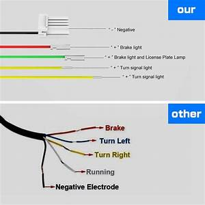 Motorcycle Led Tail Light Wiring Diagram 4 Wire