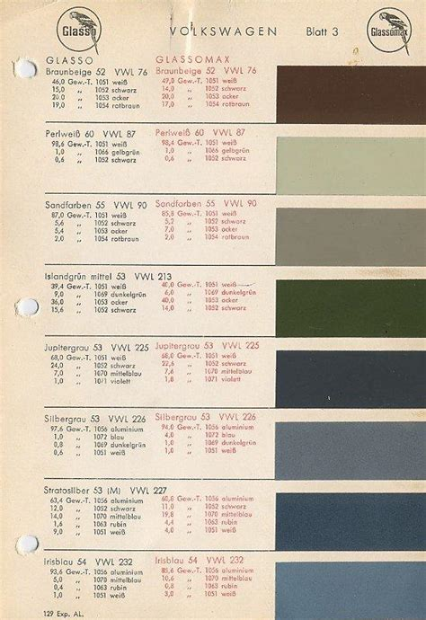 thesamba com beetle oval window 1953 57 view topic color codes for 55 oval