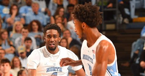 unc basketball leaky black  brandon robinson