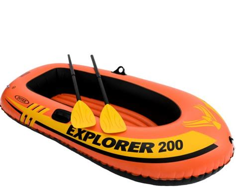 Inflatable Boats Orange County by Intex Explorer 58331 Inflatable Boat Orange Price Review