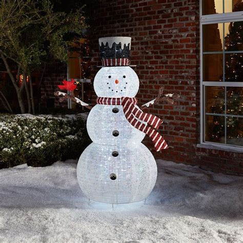 outdoor lighted snowman 67 best images about everything snowman on