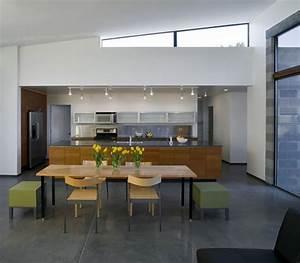 Decoration cuisine salle a manger for Deco cuisine avec salle a manger merisier