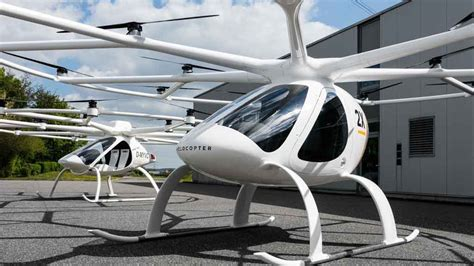 mercedes invests in german flying taxi company