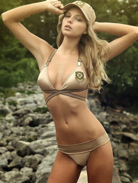 danielle knudson latest hot bikini photoshoot stills hot