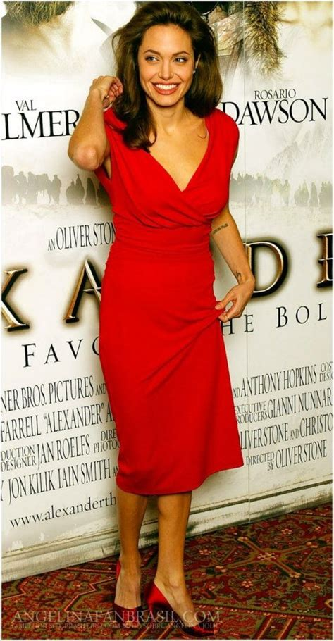 images  angelina jolie celebrity actress red dress