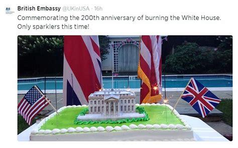 british embassy apologizes  tweet joking