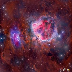 Mosaic of the The Great Orion Nebula in High Resolution ...