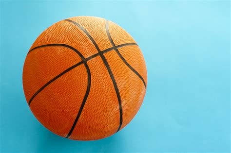 colorful basketball image of colorful orange basketball freebie photography