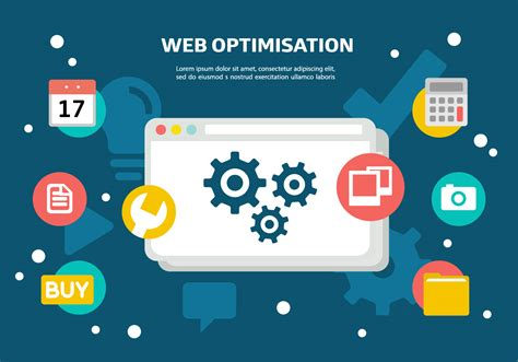 Site Optimisation by Free Web Optimisation Vector Free Vector
