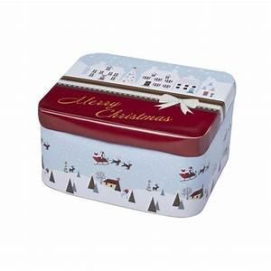 Boite A Gateau Metal : boite biscuits de no l en fer blanc petite boite ~ Teatrodelosmanantiales.com Idées de Décoration