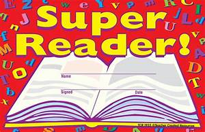 Free Certificates For Students Super Reader Awards Tcr1935 Teacher Created Resources