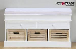 Badezimmer Bank Mit Aufbewahrung : sitzbank bank sideboard kommode weiss kissen aufbewahrung neu uvp 249 ebay ~ Sanjose-hotels-ca.com Haus und Dekorationen