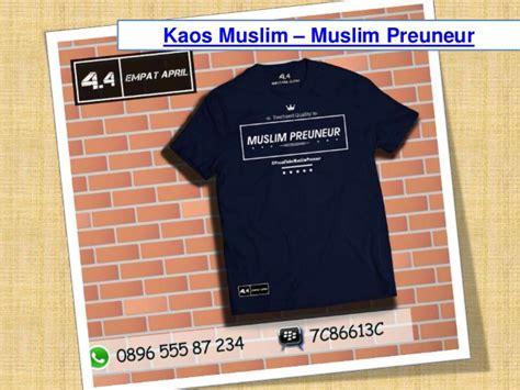 jual kaos muslim indonesia