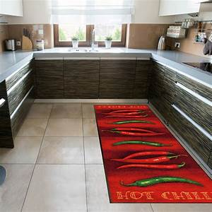 Schmutzfangmatte Wash Dry : wash dry k chenl ufer hot chili kaufen mattenkiste ~ Whattoseeinmadrid.com Haus und Dekorationen