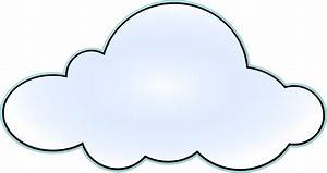 Cloud clip art black and white free clipart images ...