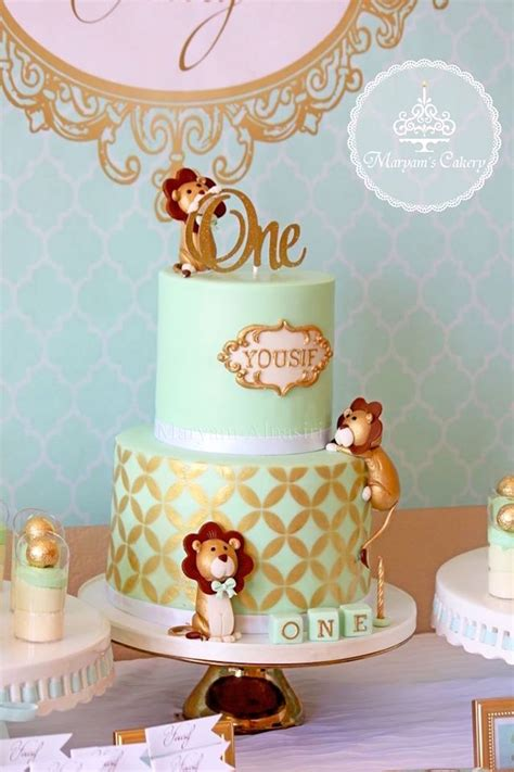 karas party ideas elegant baby lion birthday party kara