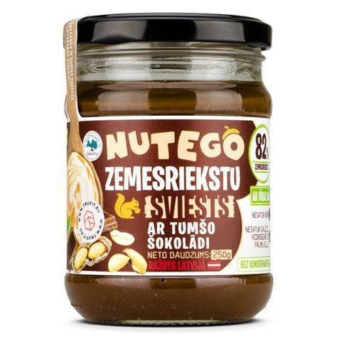 Nutego - Zemesriekstu Sviests Ar Šokolādi
