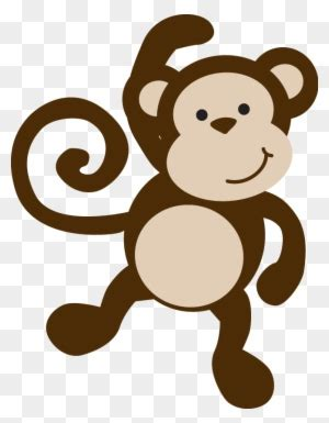 hanging monkey template bclipart  clipart images zoo