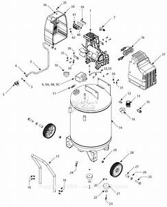 Campbell Hausfeld Hu502000av Parts Diagram For Air