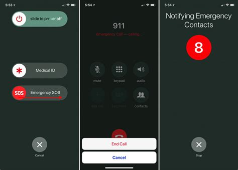 With an iPhone or Apple Watch, invoke Emergency SOS to ...