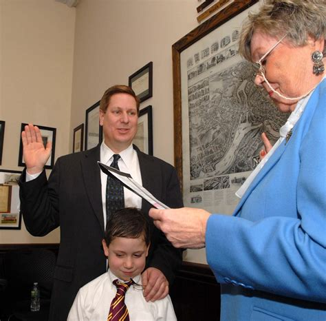 chuck norris norwich ct norris takes office as probate judge news the bulletin
